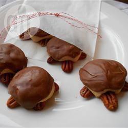 Recette petits gâteaux tortues au chocolat – toutes les recettes ...