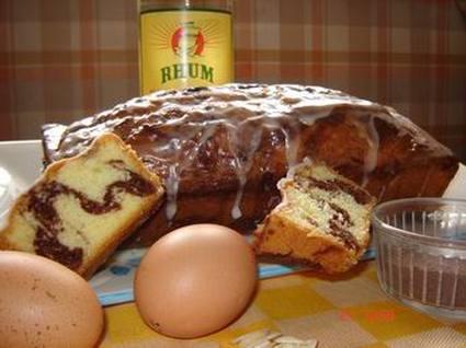 Recette de cake marbré des îles