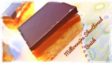Recette de millionnaire shortbread au caramel au beurre salé
