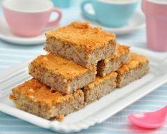 Recette gâteaux aux amandes et au zeste de citron