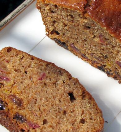 Recette de cake moelleux aux fruits et fibres