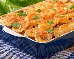 Recette tartiflette aux carottes, sauce tomate et gruyère
