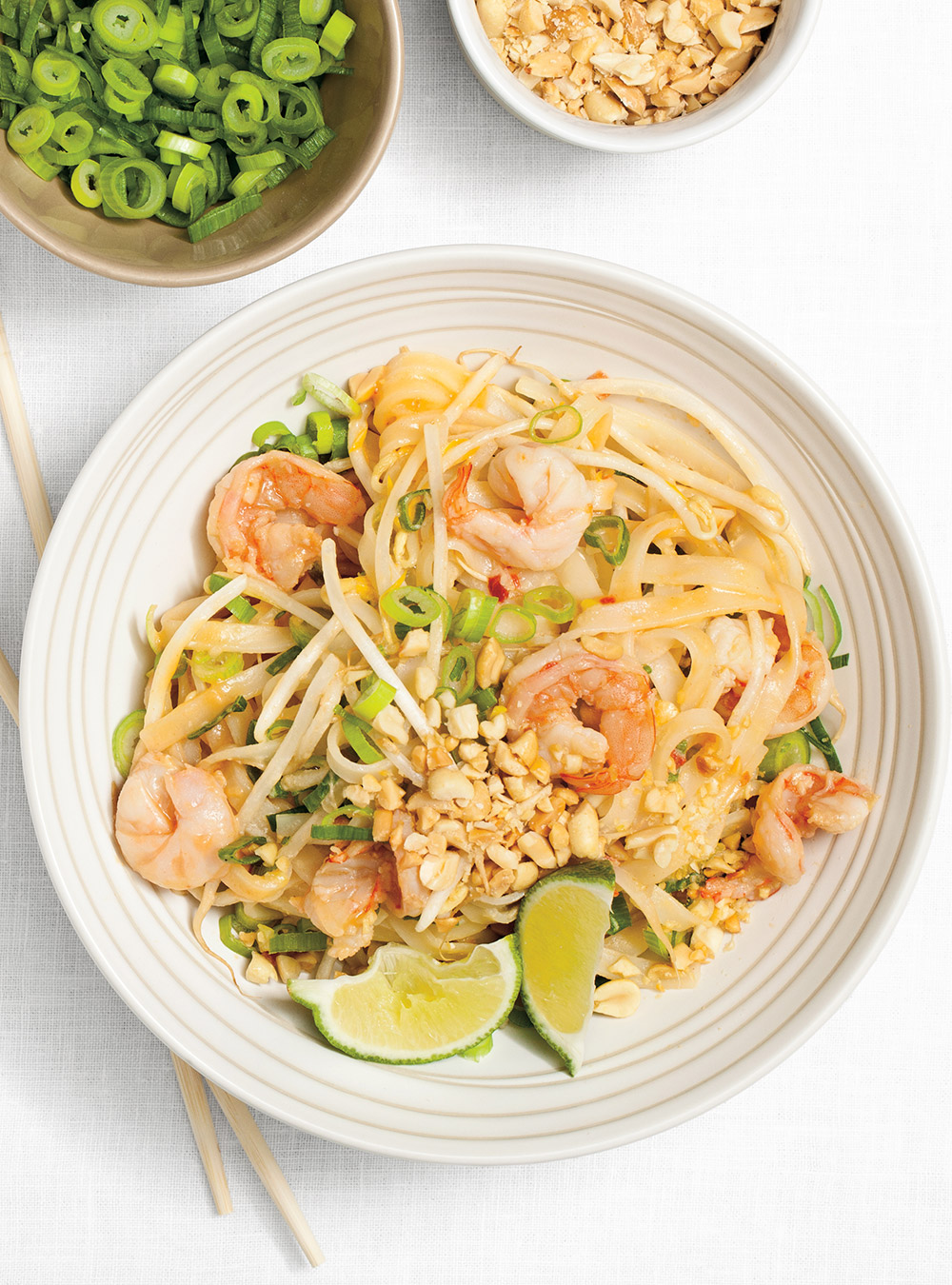 Pad thaï aux crevettes | ricardo