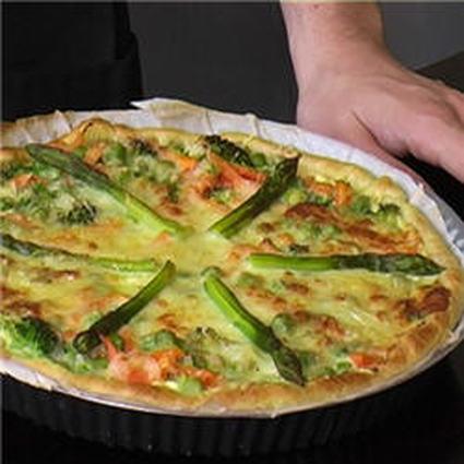 Recette de tarte aux légumes de saison