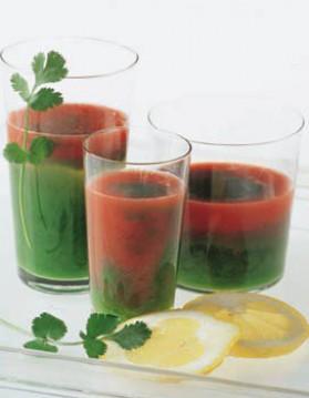 Cocktail à la tomate pour 4 personnes