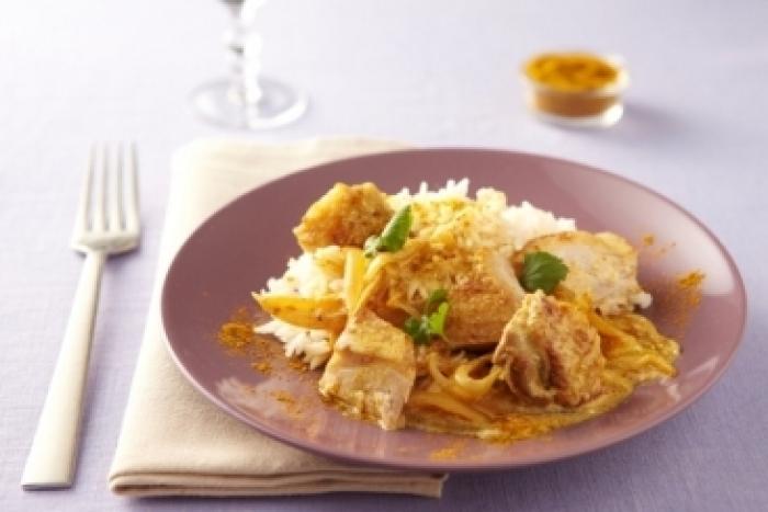 Recette de colombo de poulet fermier, riz anisé facile et rapide