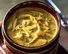 Recette soupe de courgettes allégée à la moutarde