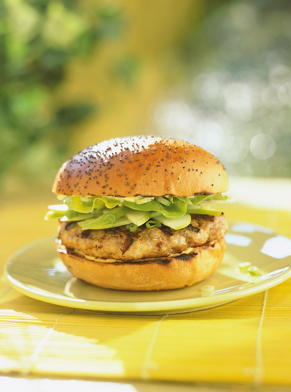 Hamburgers aux pommes et au cheddar | ricardo