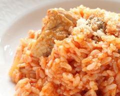 Recette aiguillettes de poulet au riz