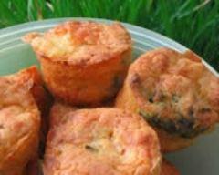 Recette muffins oseille, carottes et chèvre