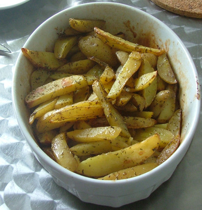 Recette de potatoes maison au four