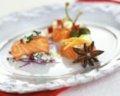 Recette saumon de norvège aux 3 saveurs