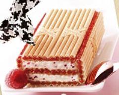 Recette gâteau de paille d'or à la framboise