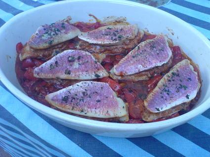 Recette de filets de rougets à l'italienne