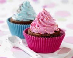 Recette duo de cupcakes moelleux