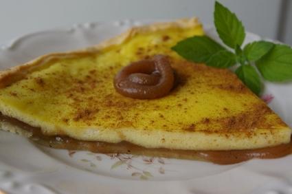 Recette de tarte à la ricotta et à la crème de marron