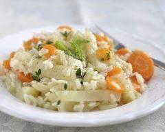 Risotto carotte fenouil minceur | cuisine az