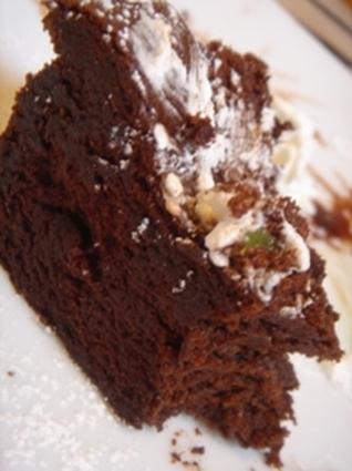Recette de gâteau au chocolat et au rhum