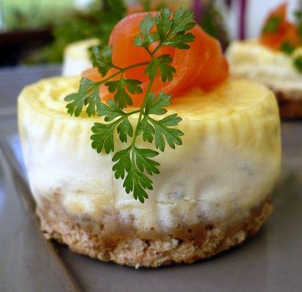 Recette de cheesecake au saumon fumé