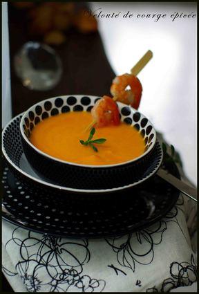 Recette de velouté de courge au lait de coco, citronnelle et gingembre