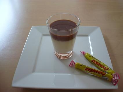 Recette de panna cotta sauce carambar