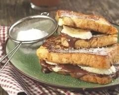 Recette croques chocolat et banane