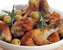 Recette cuisses de canard aux olives