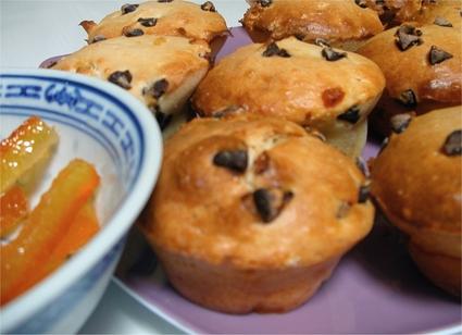 Recette de muffins chocolat-orange