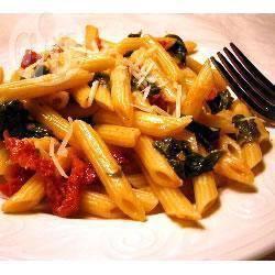 Recette penne aux pignons et tomates séchées – toutes les ...