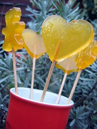 Recette de sucettes mangue-orange