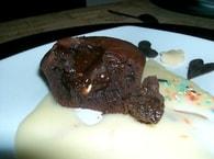 Recette de moelleux au chocolat express