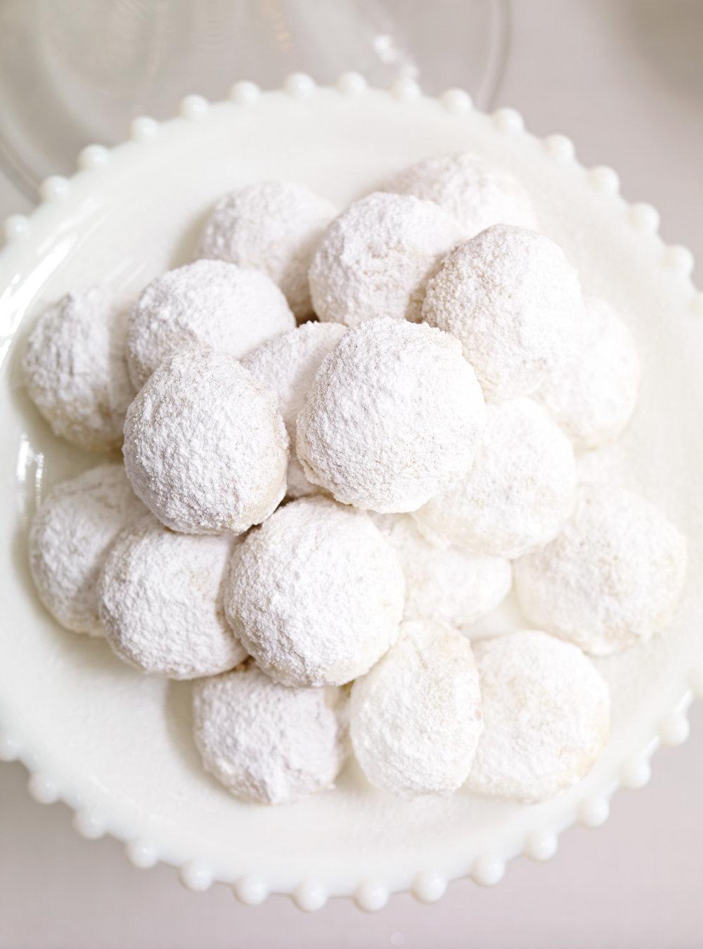 Biscuits boule de neige aux amandes | ricardo