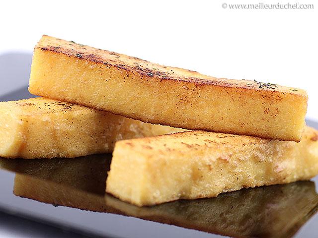 Polenta  notre recette  meilleurduchef.com