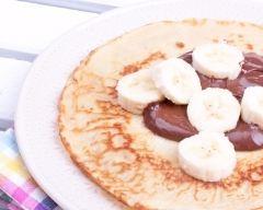 Recette crêpes au nutella et à la banane
