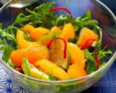 Recette salade d'agrumes, d'haddock et vinaigrette anisée