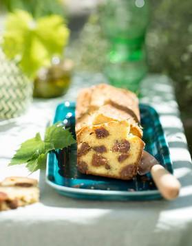 Cake sucré-salé aux figues et à la brousse pour 6 personnes ...