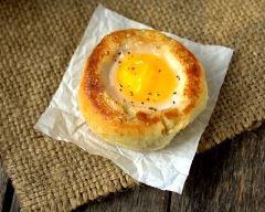 Recette egg boat bun facile