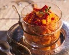 Recette verrines aux carottes et au poivron