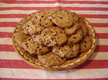 Recette de cookies aux pépites de chocolat maison