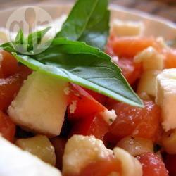Recette salade de pâtes surimi et saumon – toutes les recettes ...