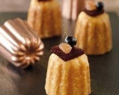 Recette pâtés en croûte foie gras et marrons glacés, gelée de cassis