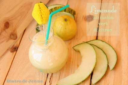 Recette de limonade au melon vert et au citron