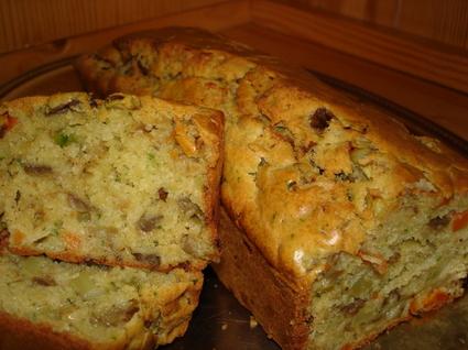 Recette de cake aux légumes