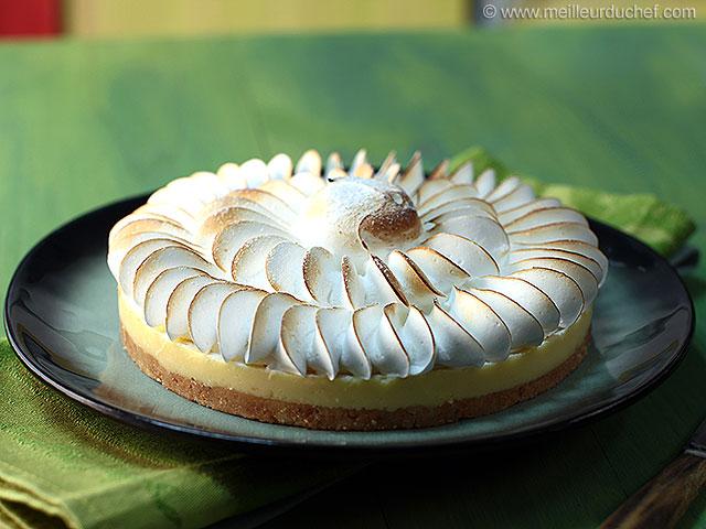 Ma tarte au citron  fiche recette avec photos  meilleurduchef.com