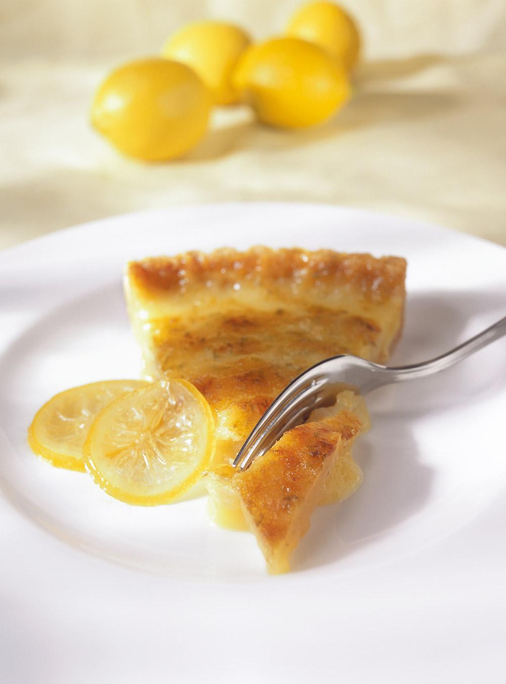 Tarte aux deux citrons | ricardo