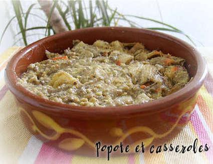 Recette de crémeux de surimi aux asperges blanches