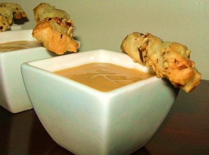 Recette de crème de haricots et potiron au gorgonzola
