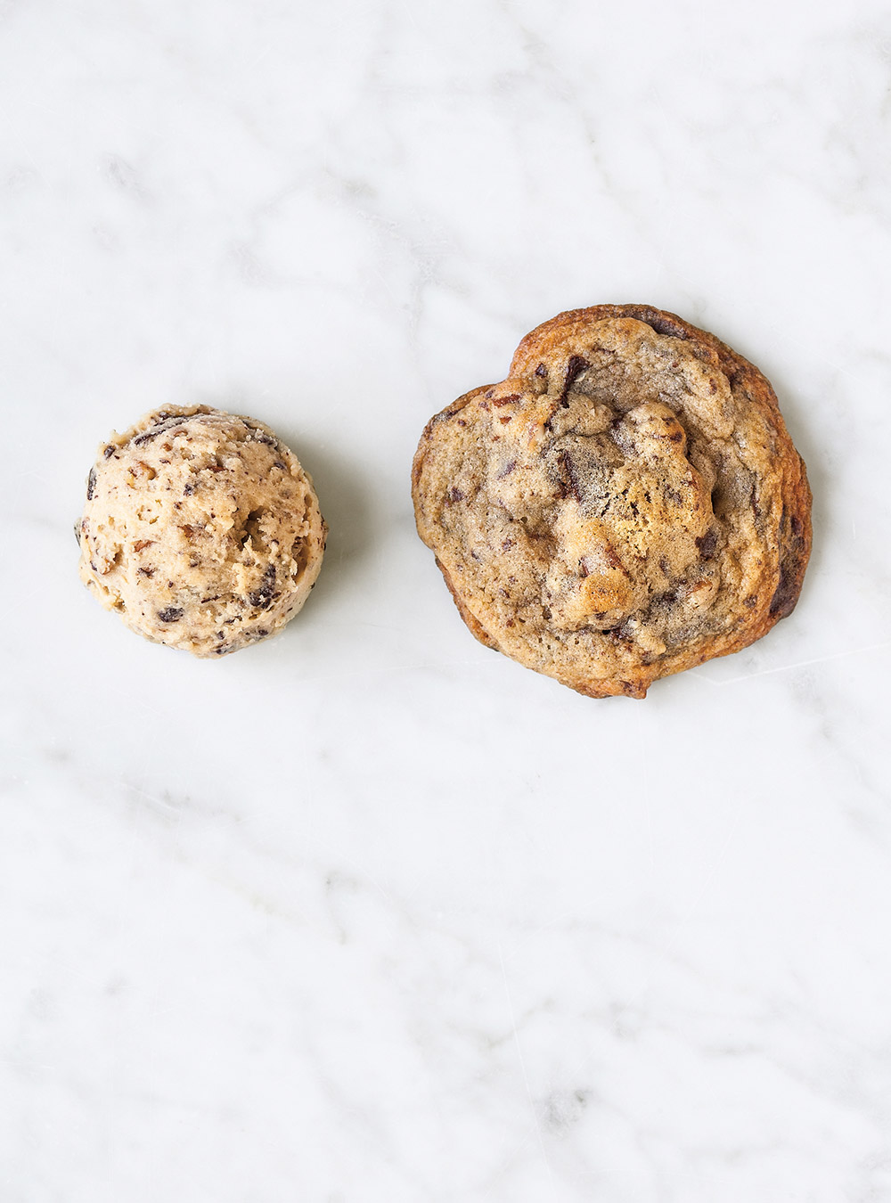 Biscuits au chocolat et aux pacanes à congeler | ricardo