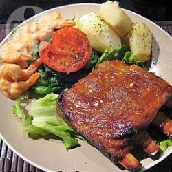 Recette travers de porc à la sauce barbecue facile – toutes les ...