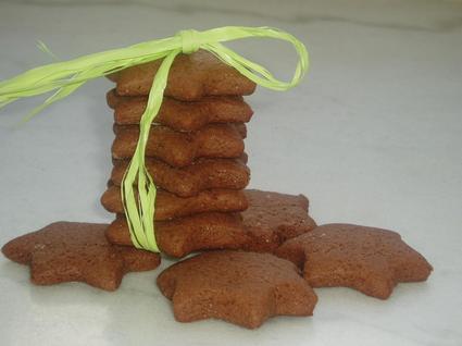 Recette de sablés au cacao